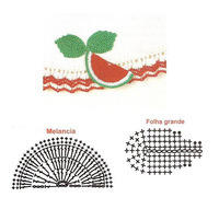 applique watermelon