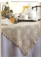 Le set de table au crochet