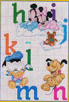 alphabet bébé Disney Michey Minnie (3)