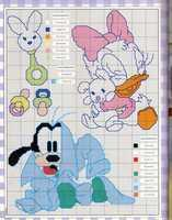 Baby Disney point de croix (8)