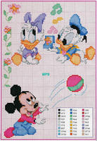 Disney bébé Mickey Mouse Donald Duck Daisy