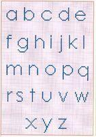 Simple alphabet bleu1937